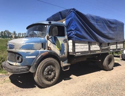 Infracción camión